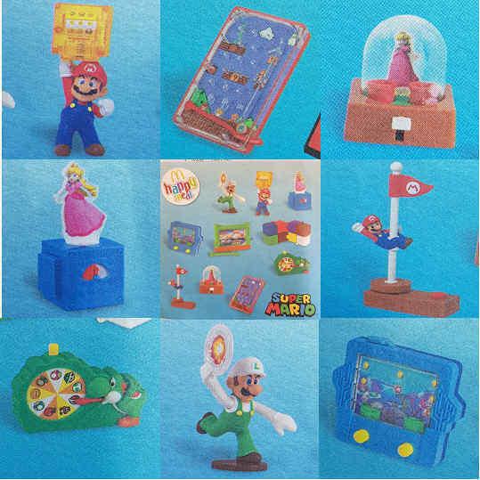 McDonalds Happy Meal Toy 2018 Super Mario Luigi Princess Peach Toys - Various