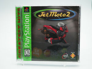 Jet Moto 2 PlayStation 1 PS1 Game Complete Tested Free Shipping