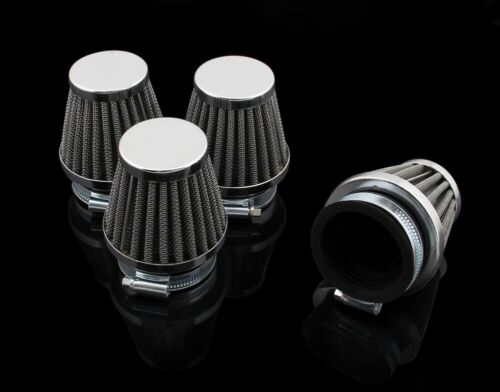 38mm//39//40mm 4PCS Cold Air Filter Pod Cleaner For Kawasaki KZ550 Suzuki GS550 GB