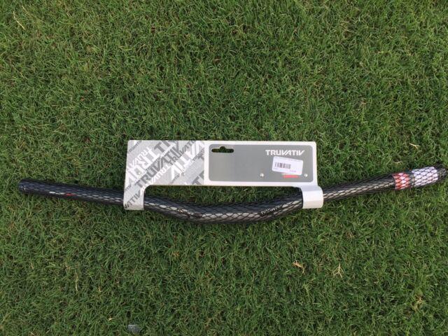TruVativ Noir T30 Carbon Flatbar 700mm Wide 10 Degree Sweep