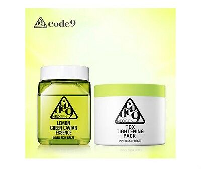 Neogen Lemon Green Caviar Essence 250ml + Tox Tightening Pack 25ea Set