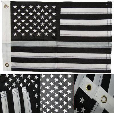 "12x18 Embroidered Puerto Rico 220D Nylon Sleeved Garden Flag 12/""x18/"""