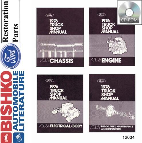 ispacegoa.com Automotive Service & Repair Manuals 1976 Ford Truck ...