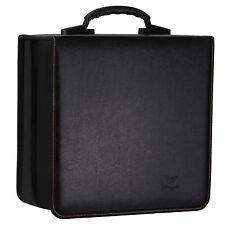 Lifewit 512 Disc CD DVD Leather Organizer Storage Case Media Viedo Holder Black