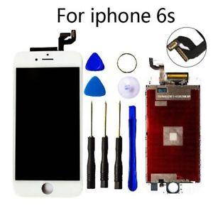 Para-Iphone-6s-Blanco-Pantalla-LCD-Digitalizador-de-Tactil-Ensamblaje-Recambio