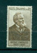 Italia Repubblica 1957 - B.911 -  Giosuè Carducci