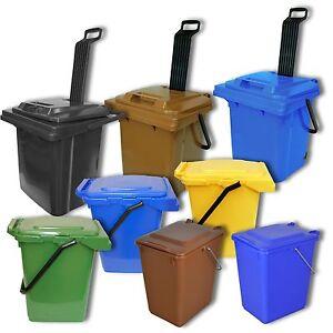 gelb,blau,braun,grün,schwarz,rot Abfall Tonne Behälter Box Sulo Mülltonne 10 L