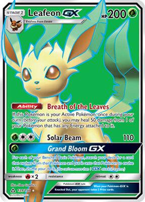 leafeon gx 139//156 nm to m