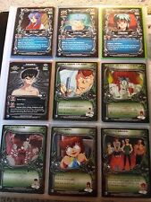 Yu Yu Hakusho TCG CCG COMPLETE Alliance Common - Rare Set Unlimited