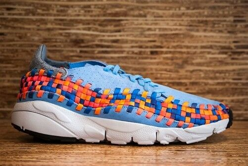 2013 Air Footscape Woven Motion university bluee limited edition  supreme quality