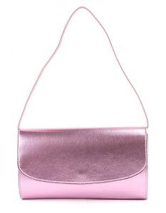 bcba14e578b56 Das Bild wird geladen ESPRIT-Diva-Baguette-Clutch-Schultertasche-Tasche -Light-Pink-