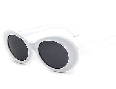 e38ff4b495c Clout Goggles Rapper Glasses Sunglasses Fancy Dress White Oval Shades  Grunge UK