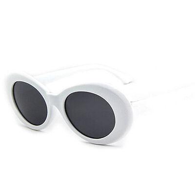 White Oval Glasses Kurt Cobain Style Sunglasses Nirvana Fancy Dress Grunge