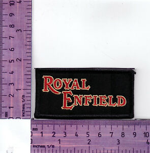 Royal Enfield  Bikers Vest, Jacket  Embroidered Badge / Cloth Patch