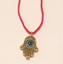 Hamsa Hand Eye Amulet Talisman Evil Eye Protection Small Pendant Charm