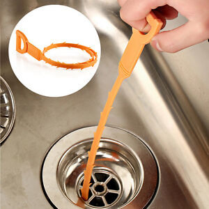 Image Is Loading 1Pc Pipe Blockage Cleaner Bathtub Drain Clog Unclog