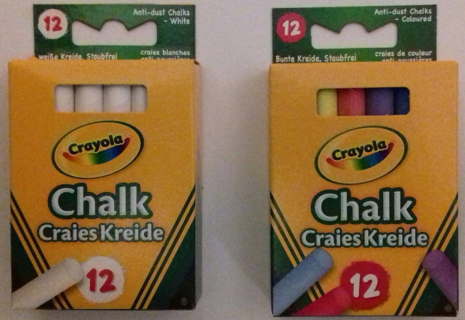 Anti Dust Assorted Chalk Crayola 1 by Crayola