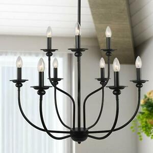 Metal Chandelier 2 Tier Dining Room