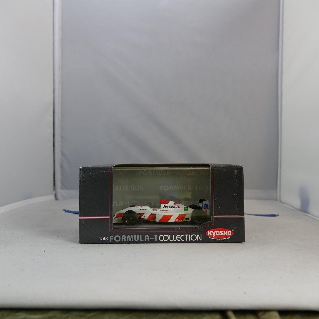 1 43, Michele Alboreto, Footwork Arrows Mugen FA13, Formula 1 Collection, Kyosho