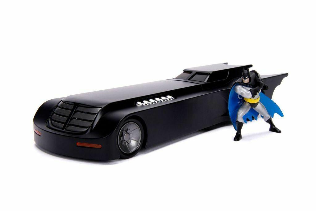 centro commerciale online integrato professionale Jada giocattoli BATuomo il Ritorno Batmobile serie serie serie animate con la cifra 1 24 SCALA DIECAST  all'ingrosso a buon mercato