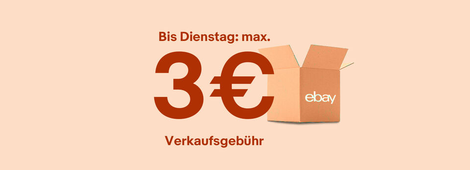 Verkaufen mit max. 3€Gebühr* – Angebot freischalten - Verkaufen mit max. 3€Gebühr*