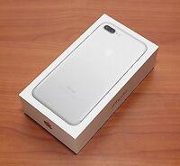 Apple Iphone 7 Plus 5.5 Unlocked 32gb Silver 4g Lte Global Gsm Ful Warrnty