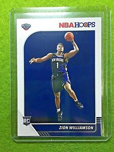 ZION-WILLIAMSON-ROOKIE-CARD-JERSEY-1-PELICANS-RC-2019-20-Panini-Hoops-Basketball
