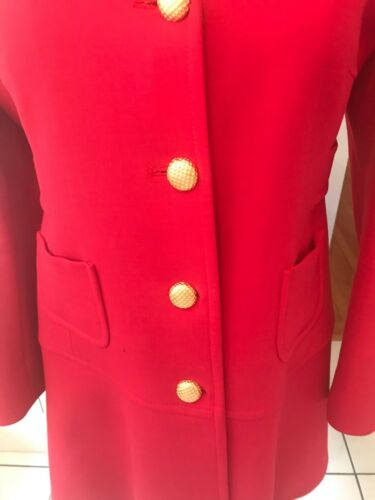 Goud Buttons 50 Prachtige jasjas 14 Red Valentino Us 12 It m8Nvn0w