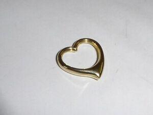 8K-Oro-333-Colgante-Corazon-Joya-de-Amarillo-Idea-Regalo-Dia-San-Valentin-2428