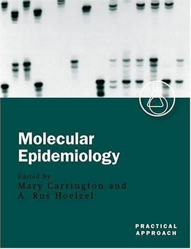 Molecular Epidemiology (Practical Approach Series)  Paperback Used - Good