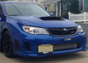 Bumper-Tow-Hook-License-Plate-Mount-Bracket-For-Subaru-Impreza-WRX-STi