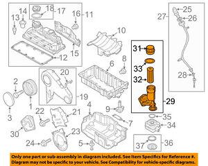 details about vw volkswagen oem 09 14 jetta engine oil filter housing 045115389h vw jetta parts diagram 2003 volkswagen jetta 2 0 engine