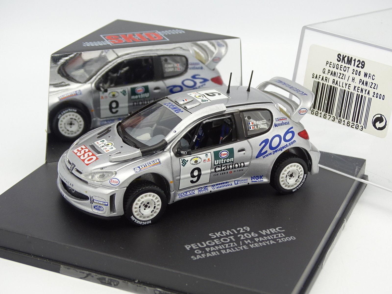 Skid Vitesse 1 43 - Peugeot 206 206 206 WRC Rallye Safari Kenya 2000 52a2cc