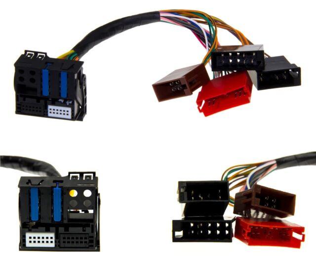 Iso Fakra Quadlock Plug&play Câble Adaptateur Pour Audi Rns-E GPS #1000