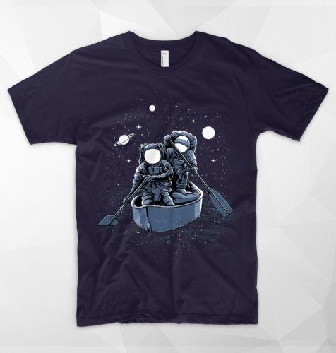 Across the Galaxy T shirt astronaute cosmonaute Nasa vaisseau spatial Alien UFO Space