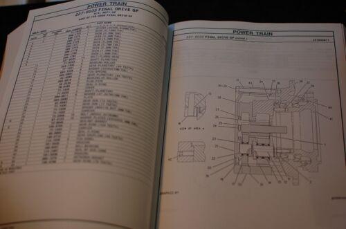 CAT Caterpillar 321C Excavator Crawler Trackhoe Parts Manual Catalog Book spare