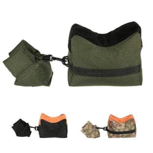 US Target Shooting Bench Rest Bag Sandbag Shotgun Rifle Rear/&Front Part Set