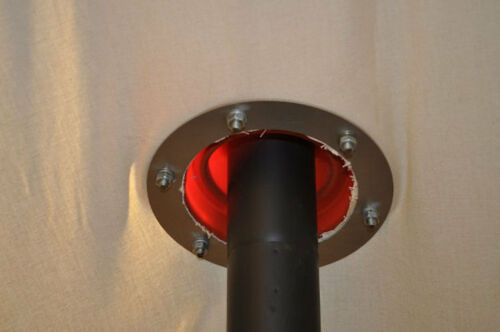 Tente de Fumée Clignotant /& Kit Perspex hublot pour 60 mm OUTBACKER//Frontier Stove