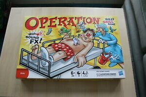 Hasbro-Operation-Silly-Skill-Game-2011-With-Sound-FX