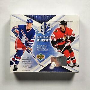 2005-06-Upper-Deck-SPx-Hockey-Hobby-Box-Factory-Sealed-Crosby-Ovechkin-Rookie