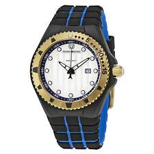 TechnoMarine Cruise Locker Silver Dial Mens Watch 115220
