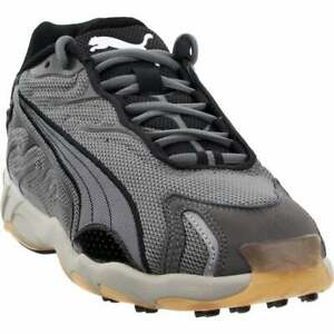 Puma-Inhale-Lace-Up-Mens-Sneakers-Shoes-Casual-Grey