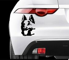GERMAN SHEPHERD DOG Car VINYL STICKERS Bumper Van Window Laptop JDM DECALS