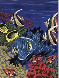 Details Zu Malen Nach Zahlen Unterwasserwelt Fische Tiermotiv Neu Größe 22 Cm X 29 Cm