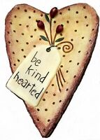 Blonder Home Country Bernadette Deming Be Kind Hearted Hearts Berries Soap Dish Home Furnishings