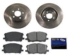 Front Ceramic Brake Pad Set & Rotor Kit for 2003-2011 Lincoln Town Car