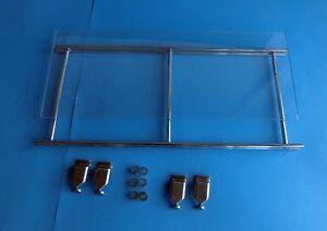 Balton-291200-Micro-Glasboden-mit-Gitterrahmen-Chrom-4-Halter-46-x-19-cm