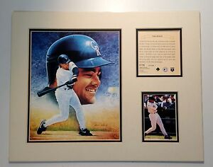 Colorado Rockies Dante Bichette 1995 Baseball 11x14 MATTED Kelly Russell Print