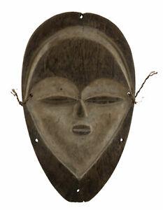Mask Tsogho Gabon Wood Art Customary Law African Rare 17164