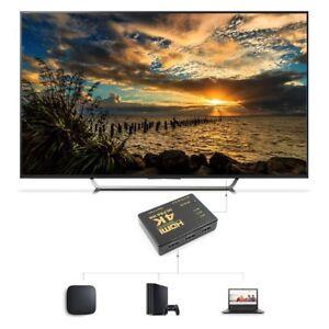 3D-3-Port-4K-HDMI-Switcher-Switch-Selector-Splitter-HUB-IR-Remote-HDTV-1080p-TY